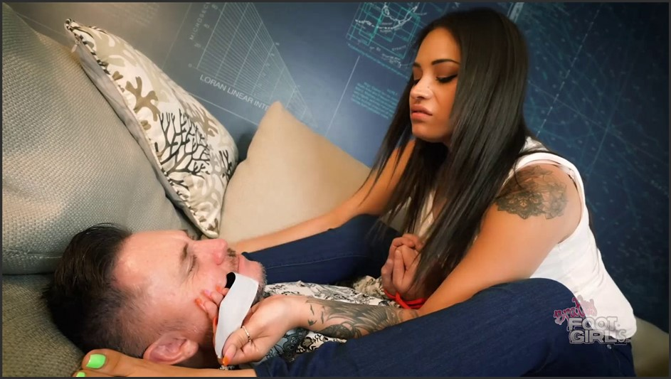 Bratty Foot Girls - Jamie Valentine - You WANT Stinky Feet huh?