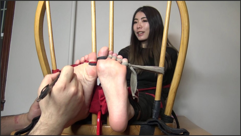 TheTickleRoom - Cocos Chinese Sole Torture Pt 1 Day 1 Prep the Feet UNCUT