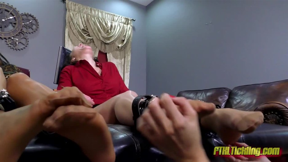 Foot-Tickle Reprimand! Pt. 1 Nicole Oring Audrey Sugarsmack!