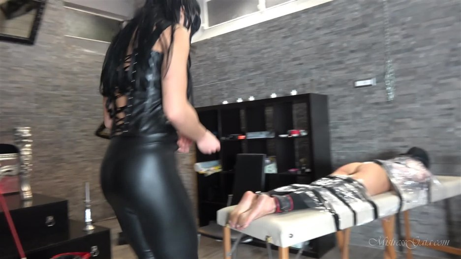 african femdom bdsm porn | Mistress Gaia - Tickle Table Of Torment - Lesbian Domination | tickling